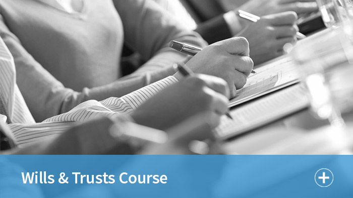 Wills and Trusts Course